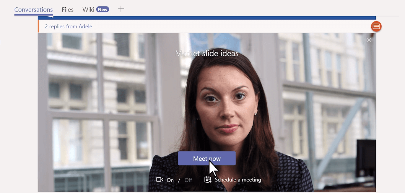 Video Call Microsoft Teams