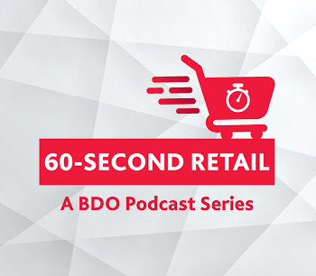 60-second Retail Podcast Series