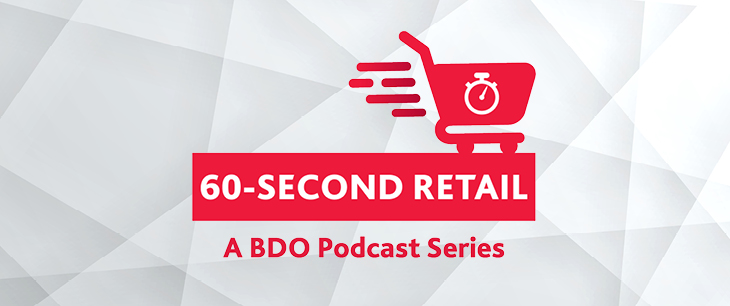 60-second Retail Podcast - Episode 23: 2021 Retail CFO Outlook: Cash Flow & Capital