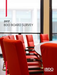 2017 BDO Board Survey