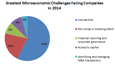 Greatest Microeconomic Challenges Facing Companies in 2014