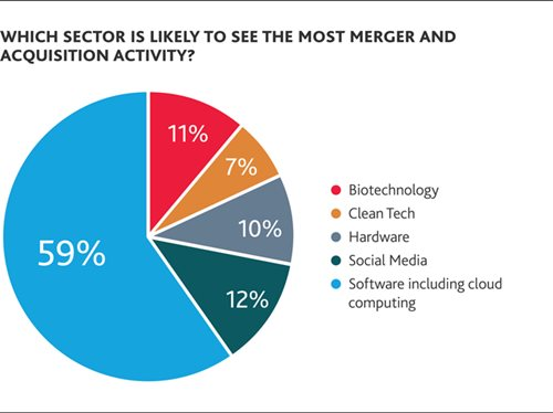 Which sector is likely to see the most merger and acquisition activity?