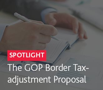 The GOP Border Tax-adjustment Proposal