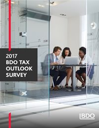 2017 BDO Tax Outlook Survey