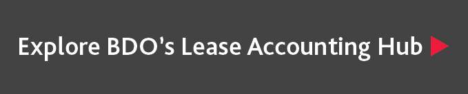 Explore BDO's Lease Accounting hub page